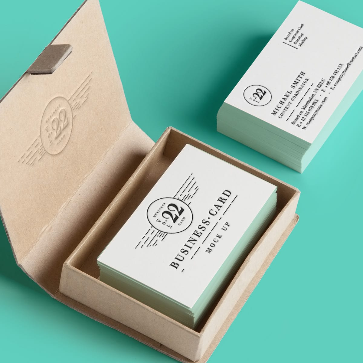Business card mockup tech trends for Business card trends