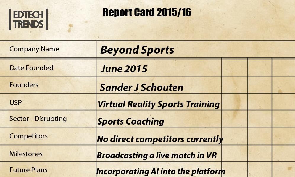 Beyond Sports Screenshot