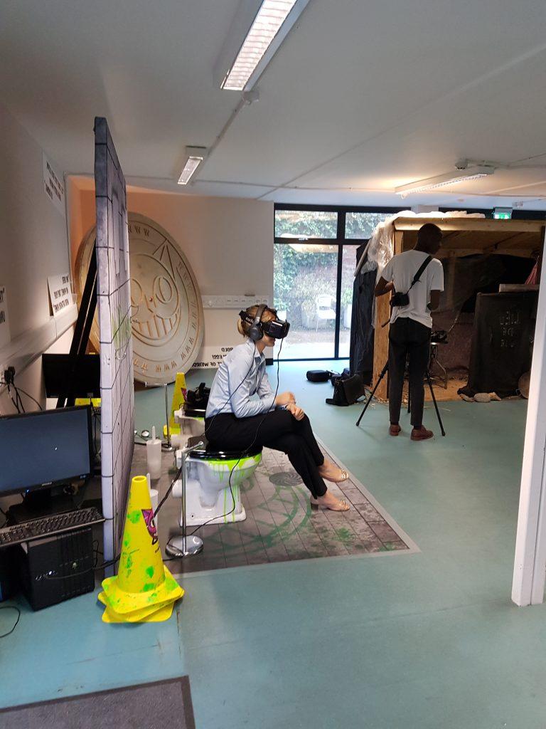 National Theatre VR Storytelling
