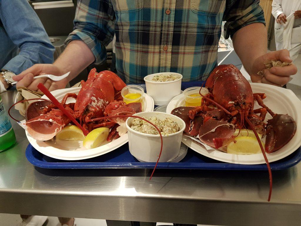 Chelsea Market Lobsters
