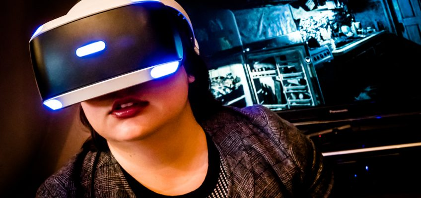 Taking the PlayStation VR for a Spin