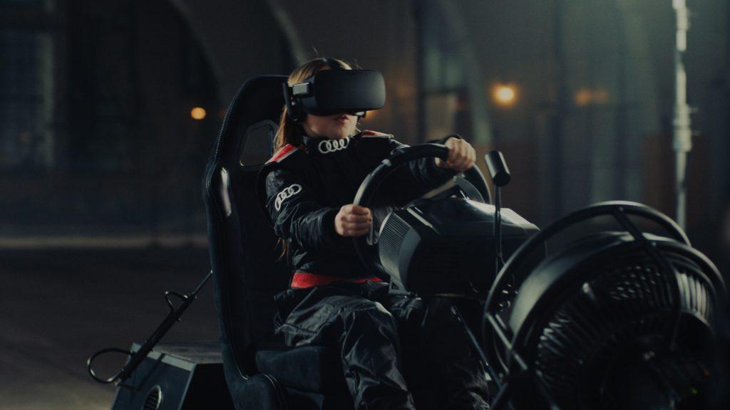 Tech Trends VR Tech Audi Test Driving