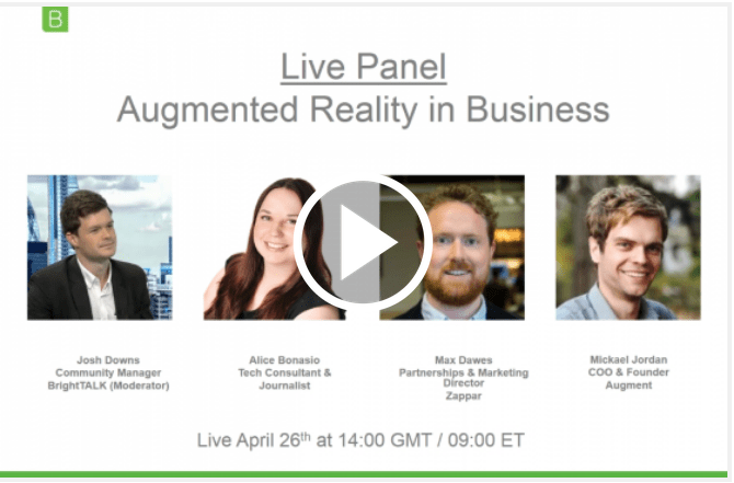Augmented Reality Means Business