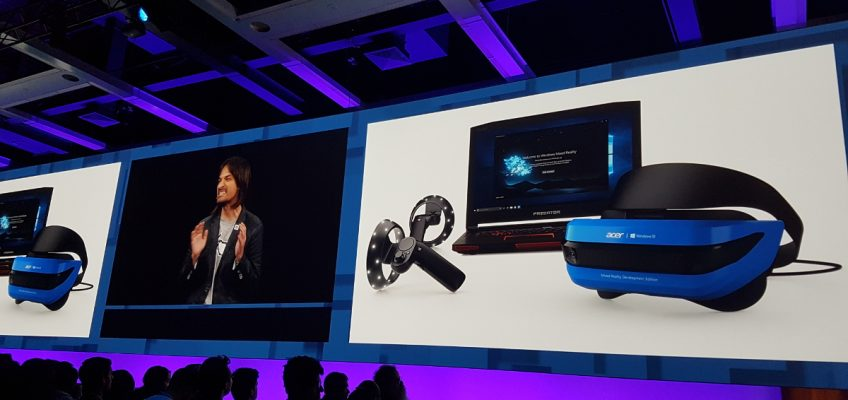 New VR and MR Hardware Unveiled at Microsoft Build 2017
