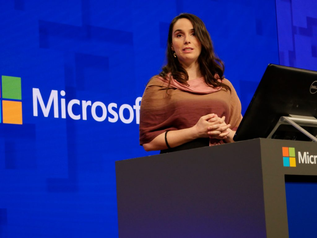 Tech Trends Women at Microsoft Build