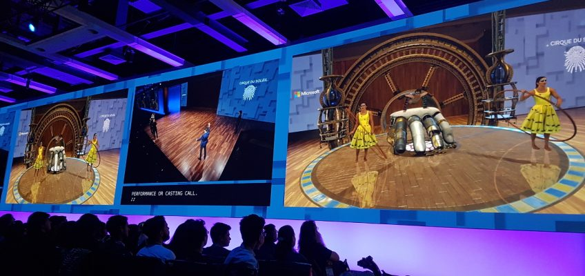 Tech Trends Mixed Reality Cirque Du Soleil MSBuild2017