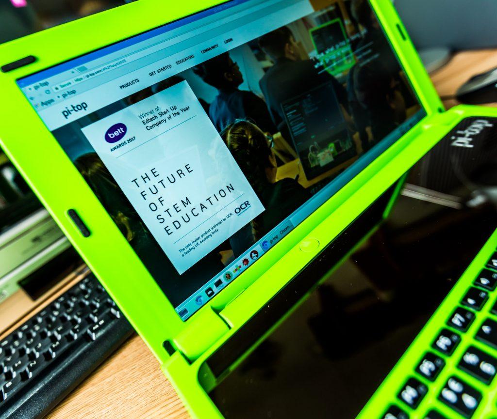 Tech Trends EdTech Trends pitop laptop