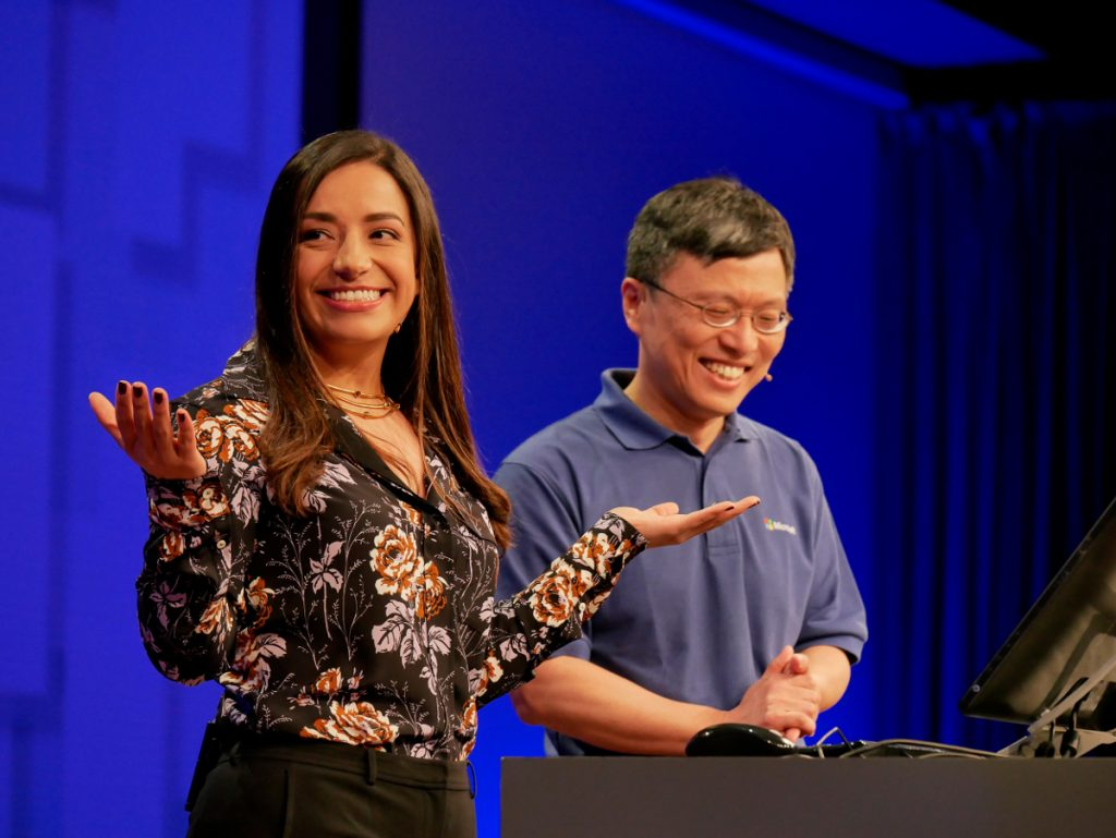 Tech Trends MSBuild 2017 women