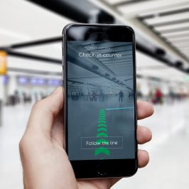 Thousands of Augmented Reality Beacons Installed at Gatwick Airport