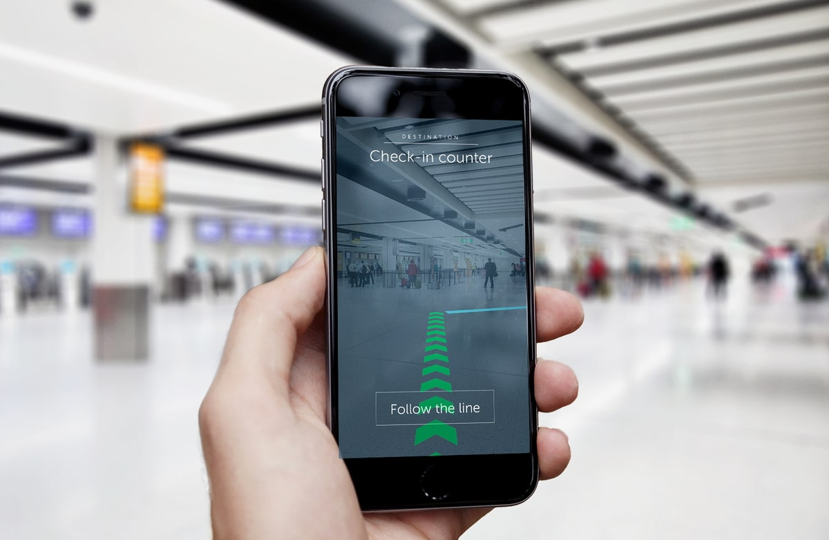Thousands of augmented reality beacons installed at gatwick airport 2 jun 2017 malvernweather Gallery