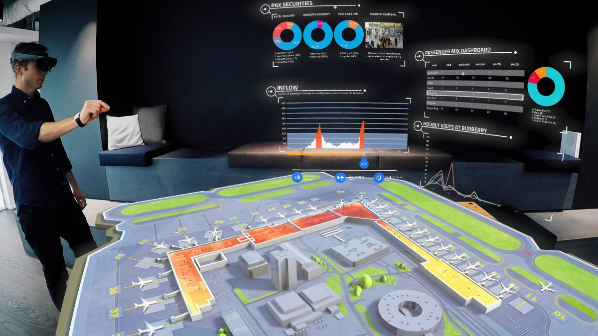 Mixed Reality Consultancy Tech Trends VR Tech HoloLens SITA Airport