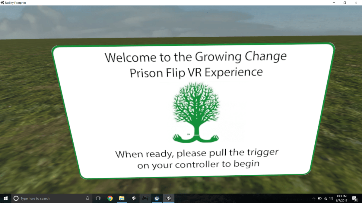 Tech Trends VR Tech Trends NC Prison Community Project VR Consultancy Alice Bonasio