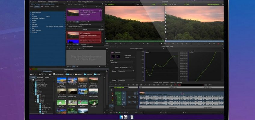 Software Review: AVID Media Composer First