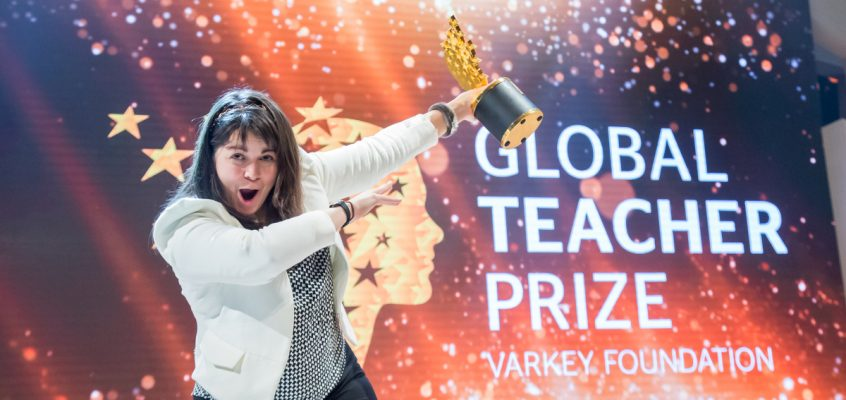 Maggie MacDonnell Global Teacher Prize Winner Tech Trends Varkey Foundation