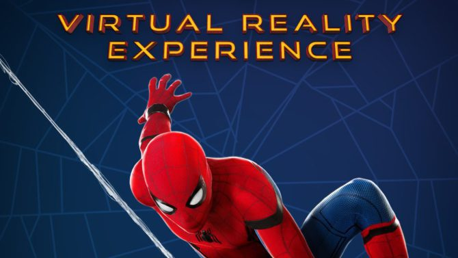Virtual Reality Spiderman Homecoming Sony Pictures Intel VR Tech Trends