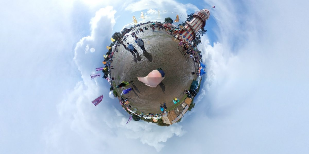 Alice Bonasio VR Consultancy MR Consultancy Tom Atkinson Tech Trends Reviews Review AR MR Mixed Reality Virtual Augmented Sex IOT samsung gear 360 camera reading 2017 festival bestival hypercube selfie #Sharethestage