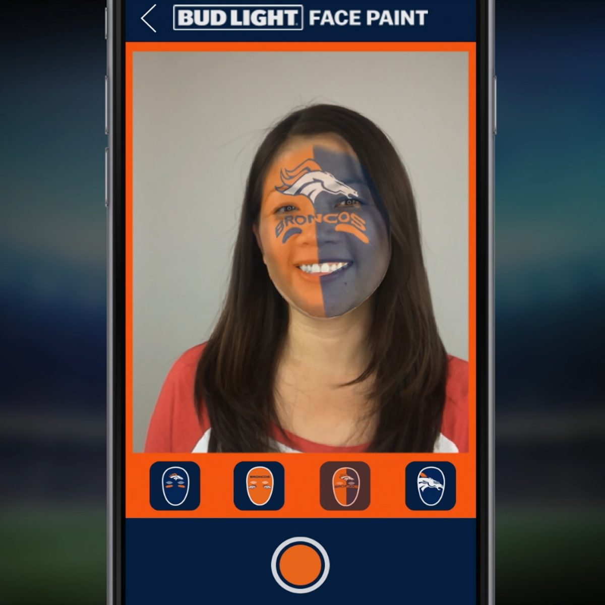 Tech Trends Augmented Reality NFL Mobile App Bud Light Broncos
