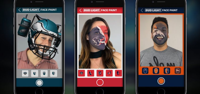 This NFL App Lets Fans Paint Their Faces With Augmented Reality