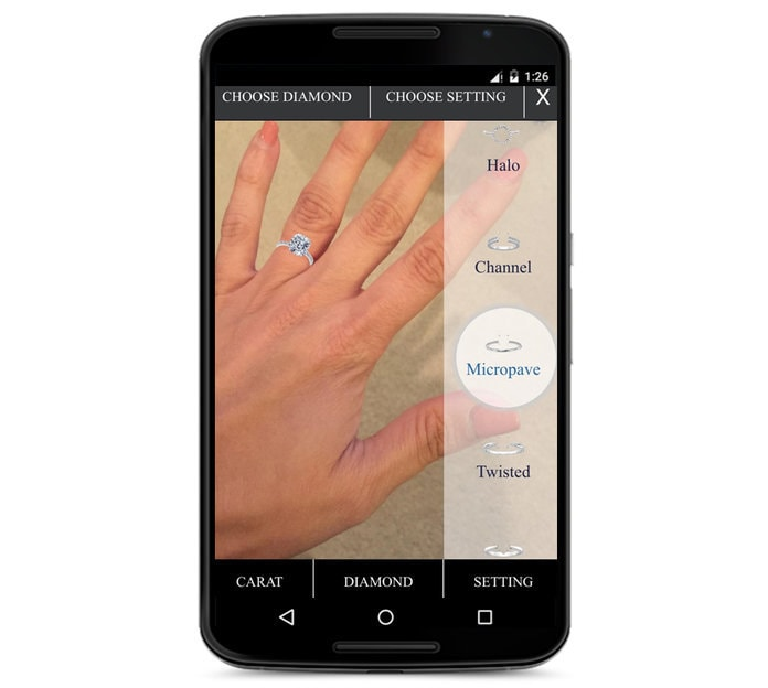 Tech Trends Augmented Reality Engagement Ring