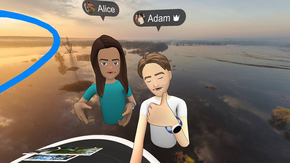 Facebook Spaces VR Tech Trends Consultancy Oculus Rift