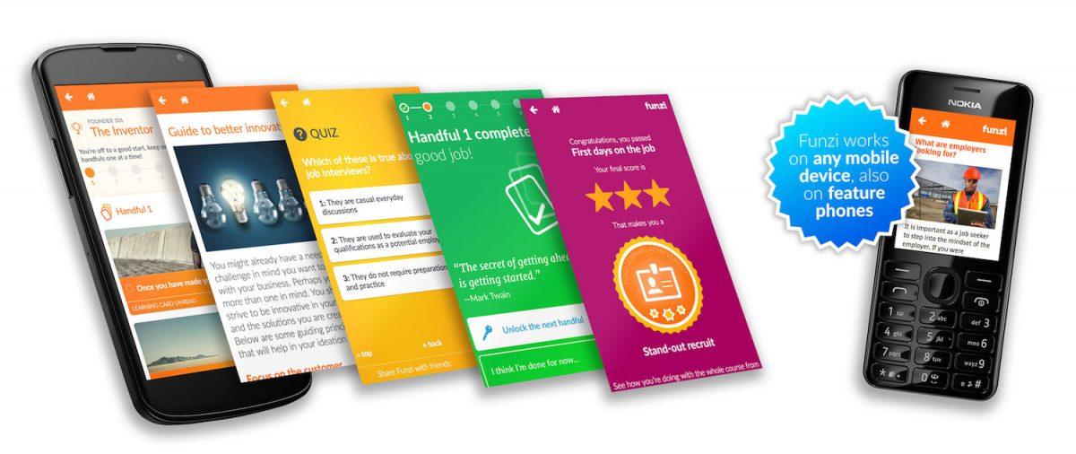 Funzi EdTech Finland Startup Mobile Personalized Learning