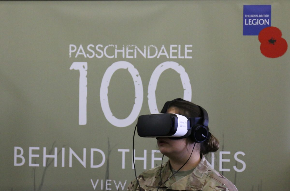 Tech Trends VR Tech Royal British Legion Poppy Appeal 360 Video