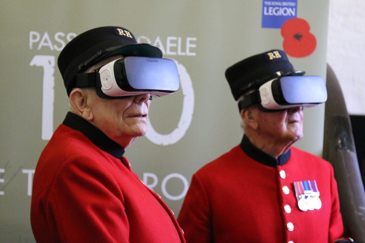 Tech Trends VR Tech Royal British Legion Poppy Appeal 360 Video