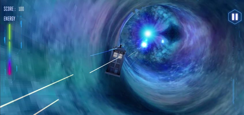 Flying a TARDIS Through VR Space-time with Doctor Who