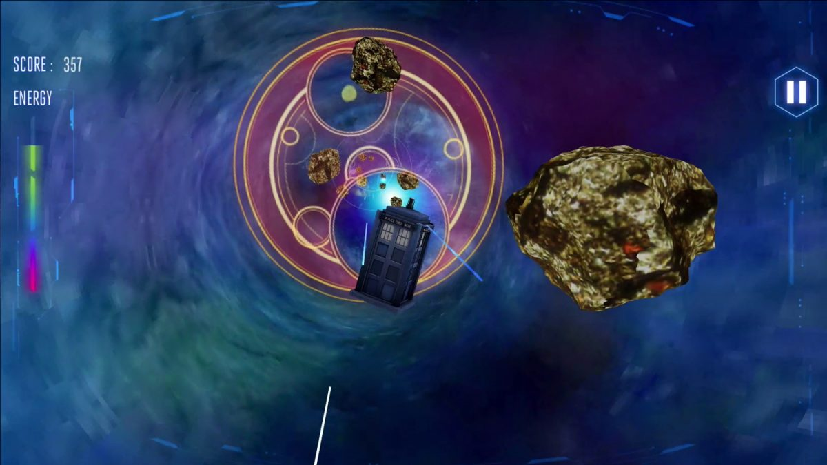 Tech Trends BBC VR Hub Doctor Who Vortex Game