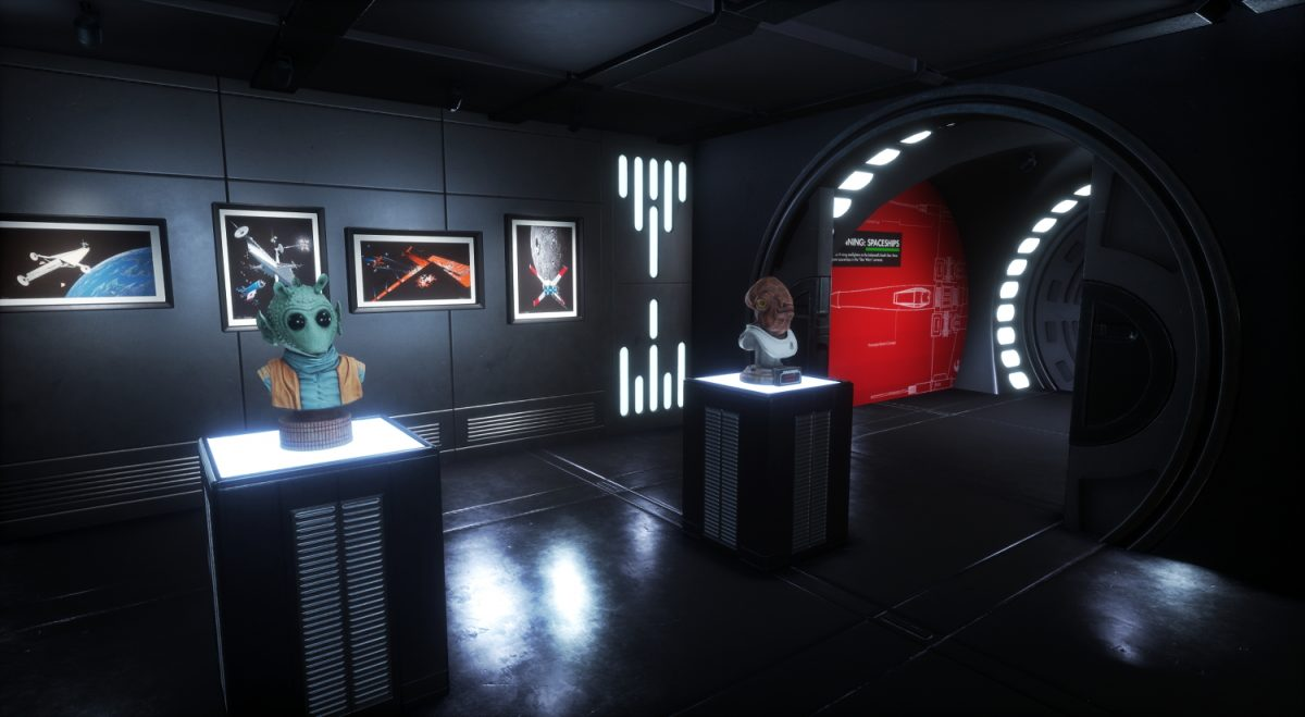 Sansar Virtual Reality Consultancy Tech Trends Sansar Star Wars VR Jedi