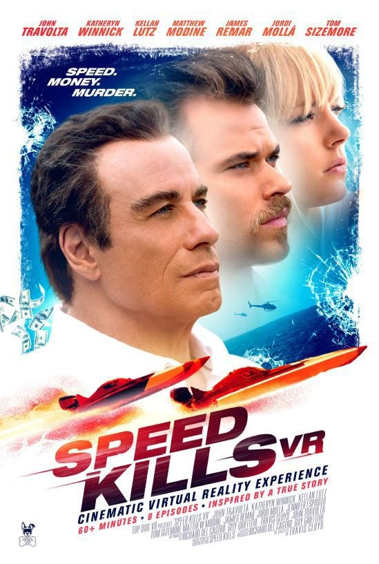 Speed Kills Cinematic VR Experience John Travolta Virtual Reality Hollywood Tech Trends