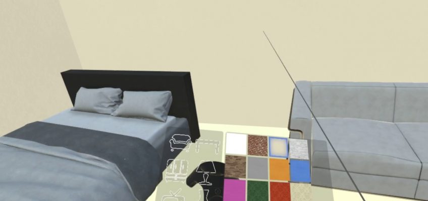 Designing Spaces in Virtual Reality