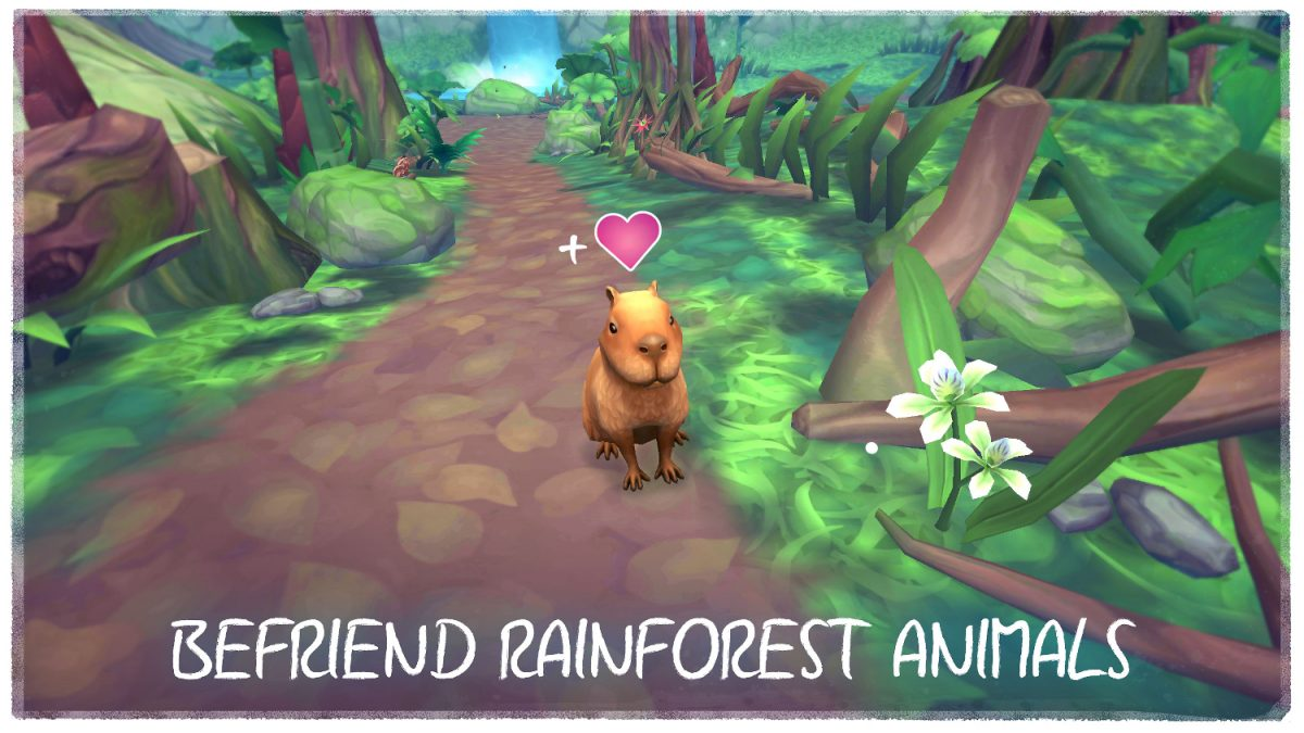FlutterVR Tech Trends Virtual Reality Amazon Forest Game
