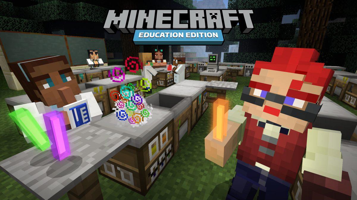 Microsoft BETT UK EdTech Tech Trends Mixed Reality HoloLens LEGO Minecraft BBC NASA