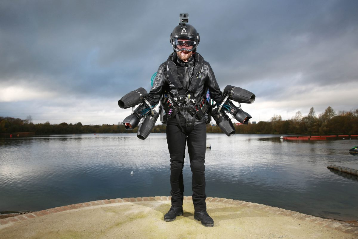 Tech Trends World Record VR Jet Flight Suit Virtual Reality Consultancy
