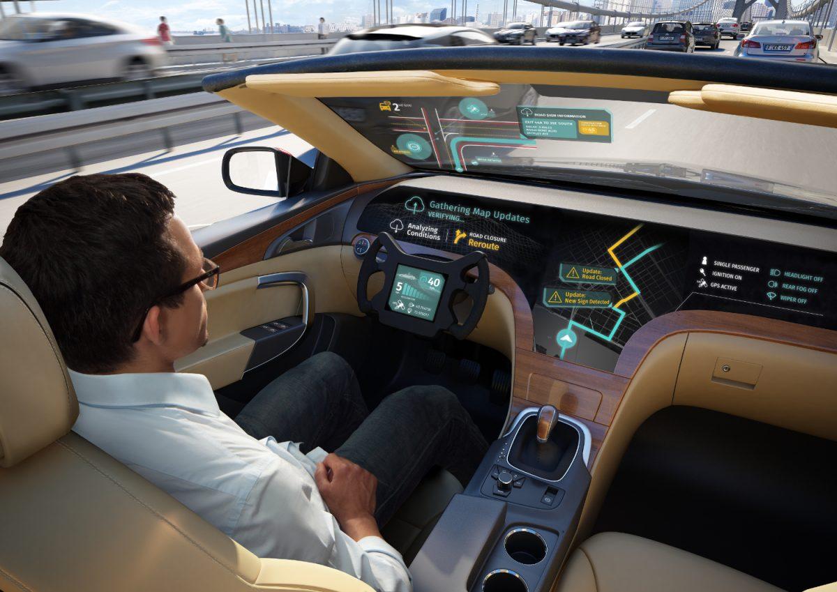 Tech Trends Driverless Cars Dubai Smart Cities Technology HERE