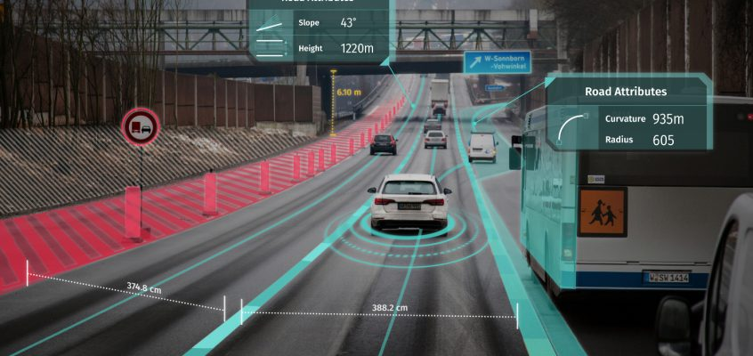 Tech Trends Driverless Cars Dubai Smart Cities Technology HERE