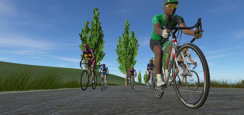 Cycling to Your Favourite Tunes in Virtual Reality
