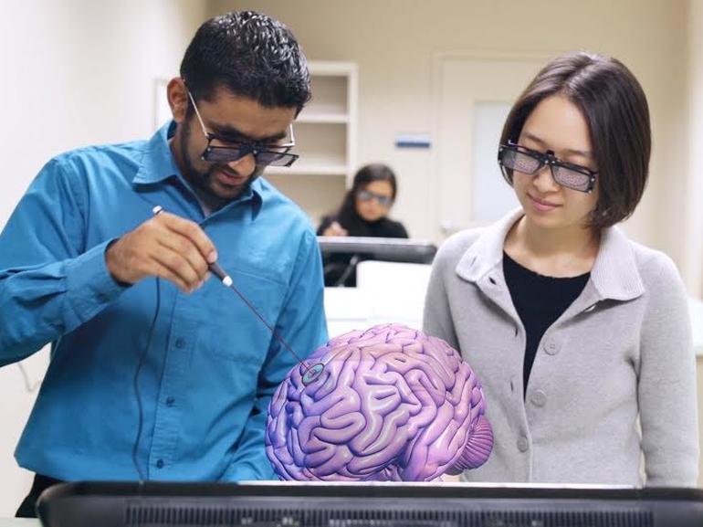 Tech Trends Virtual Reality Consultancy Training Todd Maddox Microsoft HoloLensAR molecules