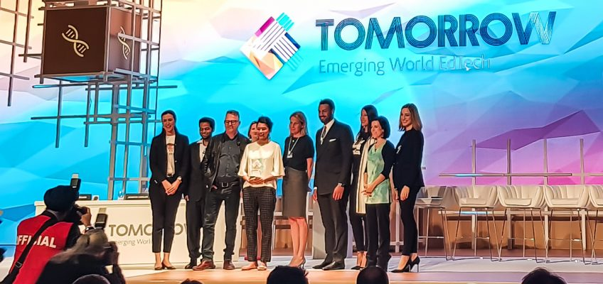 Alice Bonasio VR Consultancy MR Tom Atkinson Tech Trends Review AR Mixed Virtual Reality Augmented global teacher prize varkey foundation education