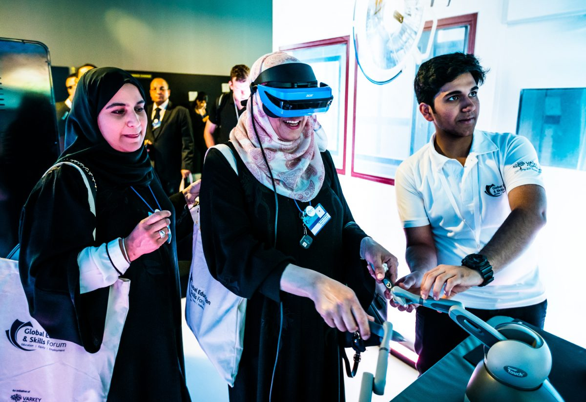 Tech Trends Virtual Reality Consultancy Immersive Technologies Learning EdTech Global Education and Skills Forum Varkey Foundation