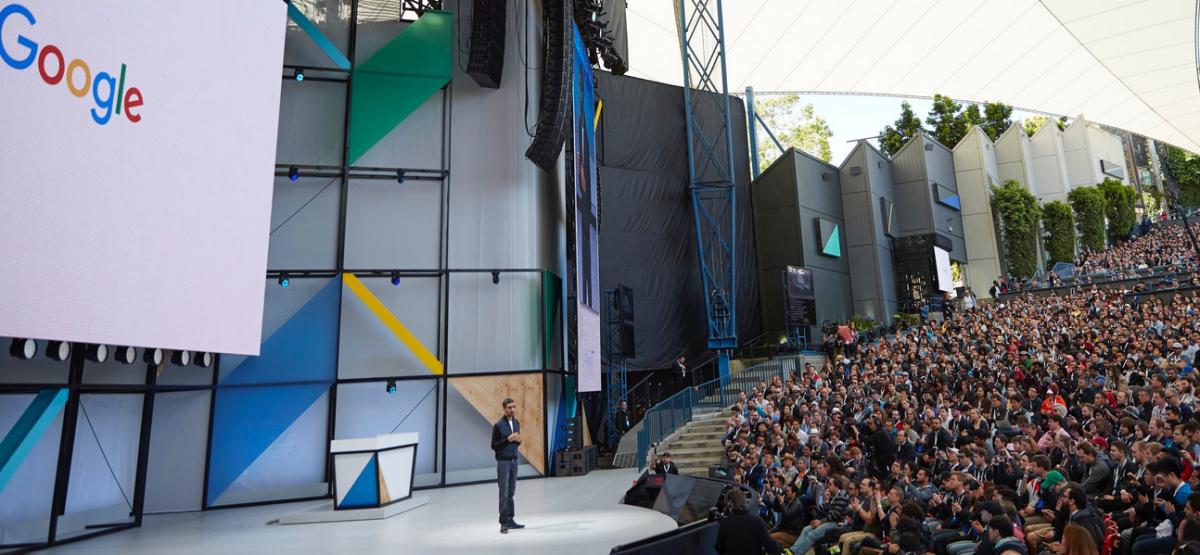 Tech Trends Google Mountain View Developer Conference IO