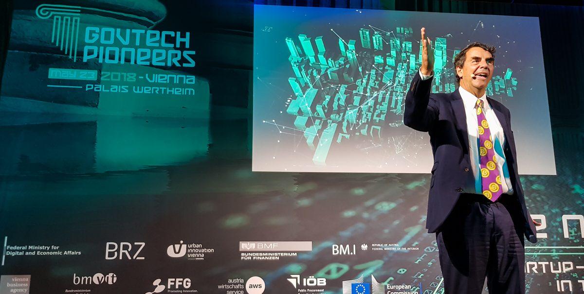 Tech Trends VR Tech Consultancy Blockchain Pioneers Conference Tim Draper