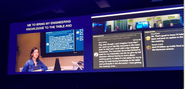 Tech Trends Artificial Intelligence and Accessibility Microsoft Build 2018
