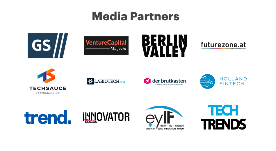 Tech Trends Pioneers Vienna 2018 Official Media Partners