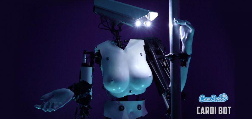 Alice Bonasio VR Consultancy MR Tom Atkinson Tech Trends Review AR Mixed Virtual Reality Augmented Camsoda cardi-bot pole dancing robot sex cardi bot