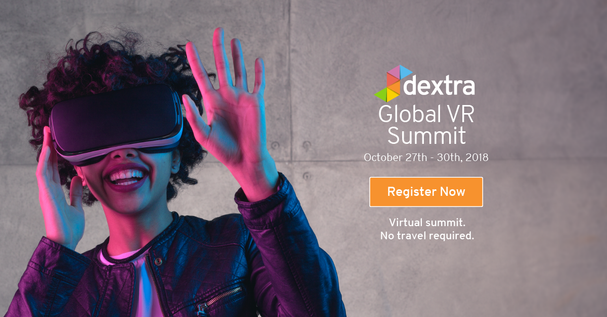 Alice Bonasio VR Consultancy MR Tom Atkinson Tech Trends Review AR Mixed Virtual Reality Augmented health dextra global summit 2018 online creative