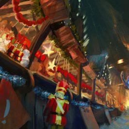 Tech Trends Is Anna OK BBC VR experience Christmas Market