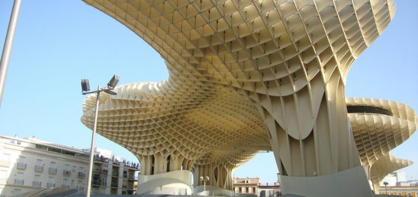 Tech Trends Metropol Parasol Innovative Construction Technology Timber Building