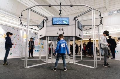 Tech Trends MK2 Secret Location VR Pod Virtual Reality Mixed Reality Augmented Reality